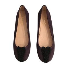 Ballet Flats PRADA Purple, mauve, lavender