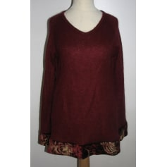 Pull tunique ANNA SUI Rouge, bordeaux
