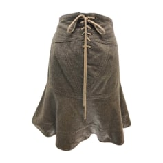 Mini Skirt MARC BY MARC JACOBS Brown