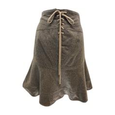 Mini Skirt MARC JACOBS Brown