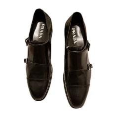 Chaussures à boucles PRADA Noir