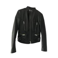 Leather Jacket DIESEL Black