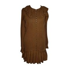Midi Dress MARC JACOBS Brown
