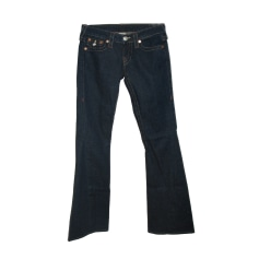 Boot-cut Jeans, Flares TRUE RELIGION Blue, navy, turquoise