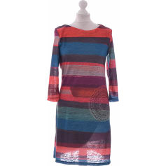 Mini Dress DESIGUAL Blue, navy, turquoise