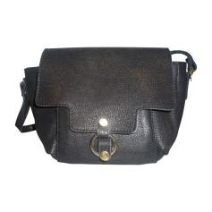 Leather Shoulder Bag CRAIE Black