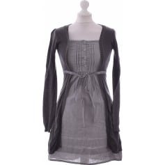 Robe courte PROMOD Gris, anthracite