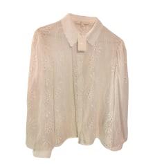 Camicia MAJE Bianco, bianco sporco, ecru