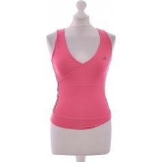 Top, tee-shirt ADIDAS Rose, fuschia, vieux rose