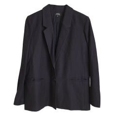 Blazer, veste tailleur A.P.C. Bleu, bleu marine, bleu turquoise