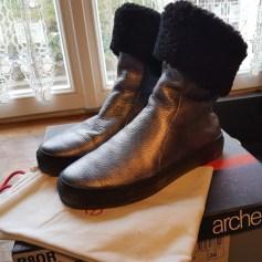 Bottines & low boots plates ARCHE Argenté, acier