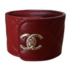 Bracelet CHANEL Rouge, bordeaux