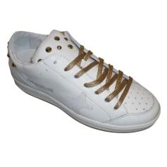 Baskets AMA Blanc, blanc cassé, écru