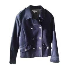 Pea Coat BONPOINT Blue, navy, turquoise
