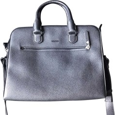 Briefcase, folder LANVIN Black