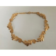Collier GUY LAROCHE Doré, bronze, cuivre