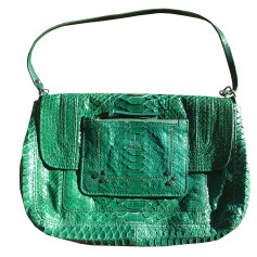 Leather Shoulder Bag JEROME DREYFUSS Green