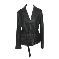 Leather Jacket MAX MARA Black