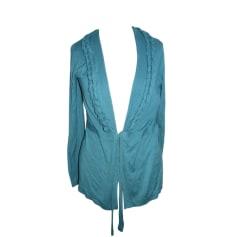 Vest, Cardigan ESCADA SPORT Blue, navy, turquoise