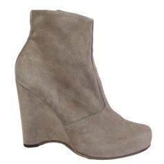 Bottines & low boots à compensés FREE LANCE Marron