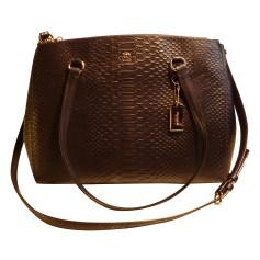 Leather Shoulder Bag COACH Black