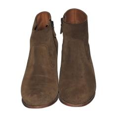 Bottines & low boots à talons ANTHOLOGY PARIS Tabaco