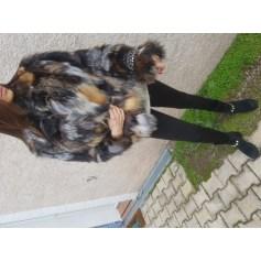 Fur Jackets PHILIPP PLEIN Gray, charcoal