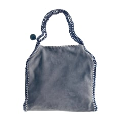 Sac à main en cuir STELLA MCCARTNEY Gris, anthracite