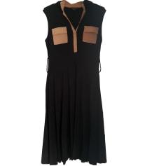 Robe mi-longue ADOLFO DOMINGUEZ Noir
