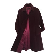 Manteau AGNÈS B Rouge, bordeaux