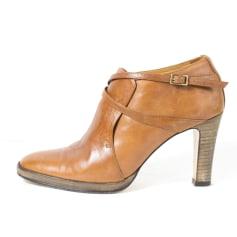 Bottines & low boots à talons ATELIER VOISIN Beige, camel