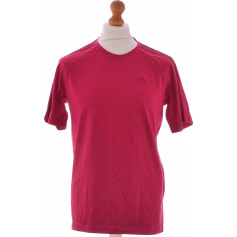 Tee-shirt ADIDAS Rose, fuschia, vieux rose