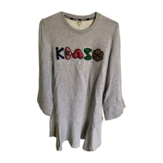 Sweater Dress KENZO Gray, charcoal