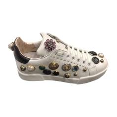 Chaussures de sport DOLCE & GABBANA Blanc, blanc cassé, écru