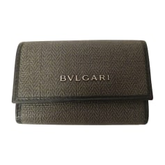 Keyring BULGARI Gray, charcoal