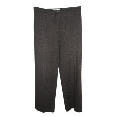 Straight Leg Pants MAX MARA Brown