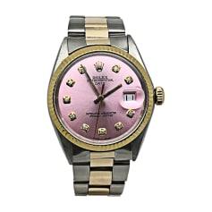 Armbanduhr ROLEX Pink,  altrosa