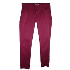 Pantalon droit LIU JO Rose, fuschia, vieux rose