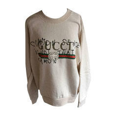 Sweatshirt GUCCI White, off-white, ecru