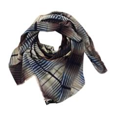 Silk Scarf GIORGIO ARMANI Gray, charcoal