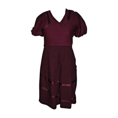 Midi Dress MARC JACOBS Pink, fuchsia, light pink