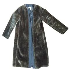Manteau en fourrure BIMBA & LOLA Vert