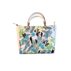 Leather Handbag TEXIER Animal prints