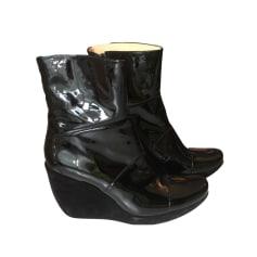 Bottines & low boots à compensés FREE LANCE Noir