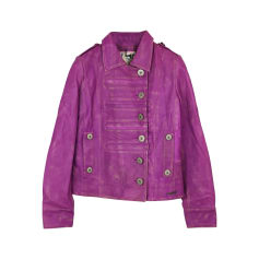 Leather Jacket PEPE JEANS Pink, fuchsia, light pink
