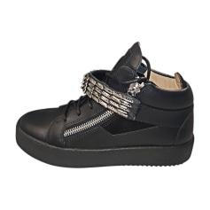 Chaussures à lacets GIUSEPPE ZANOTTI Noir