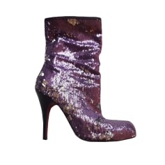 Bottines & low boots à talons BUFFALO Violet, mauve, lavande