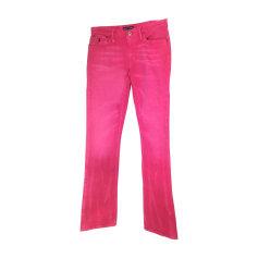Straight Leg Jeans RALPH LAUREN Pink, fuchsia, light pink