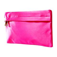 Pochette in tessuto PRADA Rosa, fucsia, rosa antico