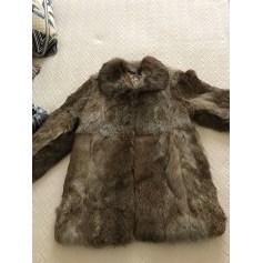 Fur Jackets BONPOINT Brown